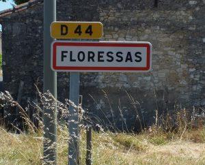 Communes - Floressas - - - Panneau du village de Floressas
