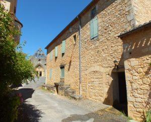 Circuits randonnée pédestre - Montcabrier - Circuit Entre Bastide et Vallée de la Thèze - 12km (Dans les ruelles de Montcabrier)