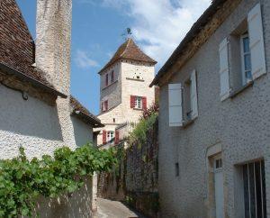 Circuits randonnée pédestre - Saint-Sozy - Circuit des Rochers et des Hommes - 8km (Dans les ruelles de Saint-Sozy)
