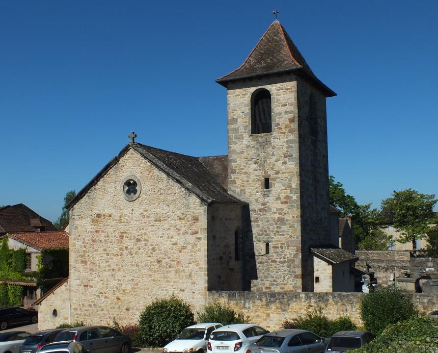 Églises & Abbayes - Capdenac - Église Saint-Jean-Baptiste (Capdenac-le-haut) -
