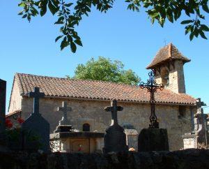 Églises & Abbayes - Capdenac - Église Saint-Jean-Baptiste (Ournes) -