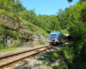 Gares & voies ferrées - Capdenac - Voie ferrée (Sourdilles) -