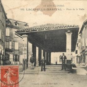 Halles - Lacapelle-Marival - Halle (Place de la Halle) -