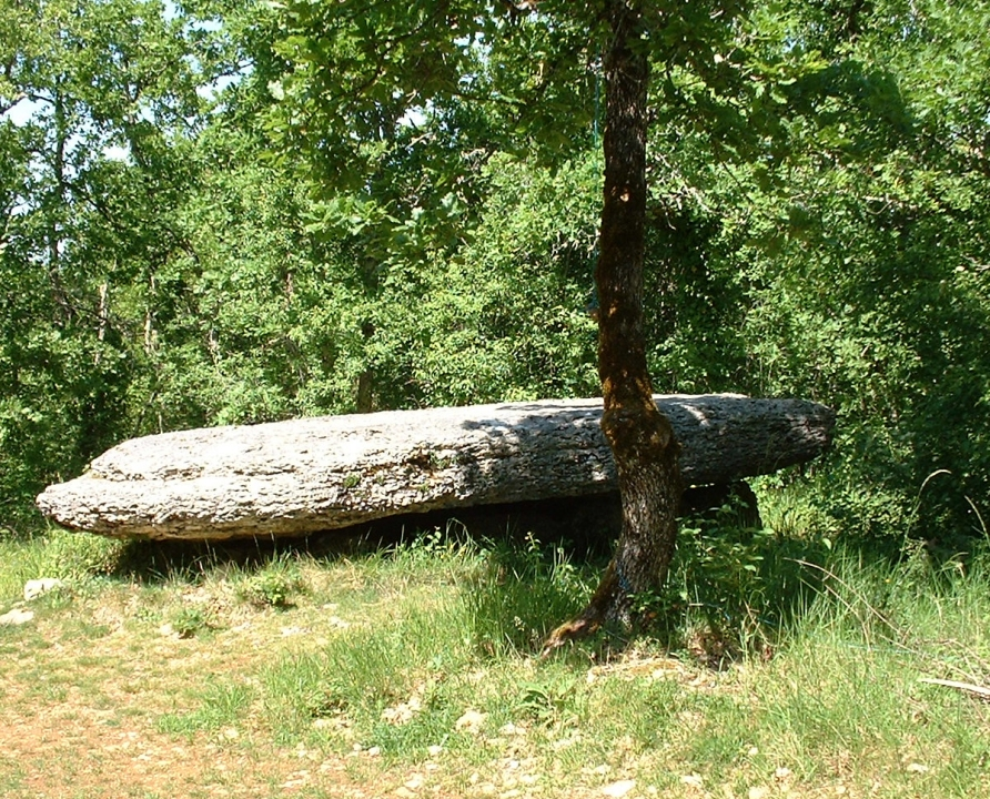 Dolmens & menhirs - Laramière - Dolmen de La Peyre Lévade -