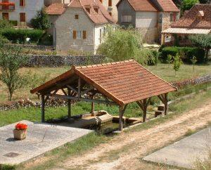 Lavoirs - Sabadel-Lauzès - Lavoir (bourg) -
