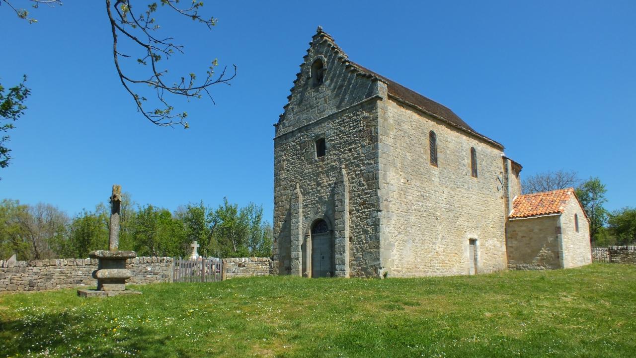 Églises & Abbayes - Issepts - Chapelle Saint-Médard-Lagarénie (Les Rengades) -