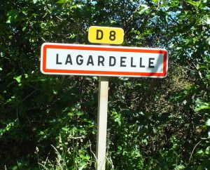 Communes - Lagardelle - - Panneau du village de Lagardelle