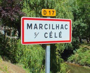 Communes - Marcilhac-sur-Célé - - Panneau du village de Marcilhac-sur-Célé
