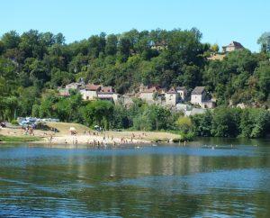 Baignade en eau douce - Saint-Cirq-Lapopie - Le Lot au camping -