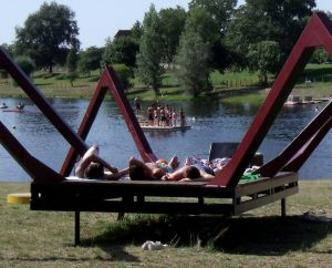 Baignade en eau douce - Tauriac - Plan d'eau du Mas de La Croix -