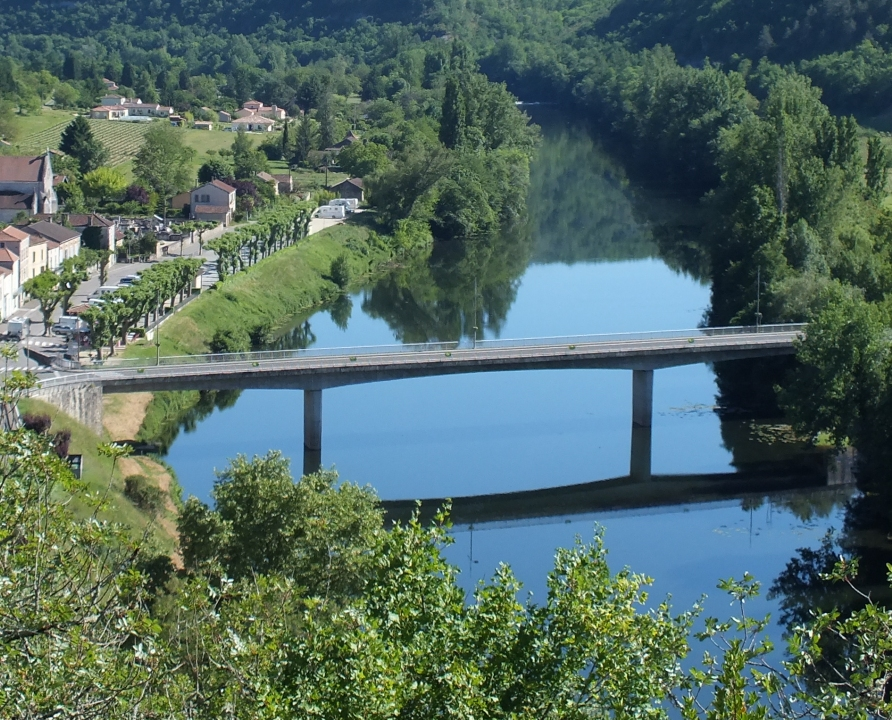Ponts & Viaducs - Luzech - Pont Ouest -
