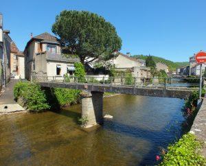 Ponts & Viaducs - Saint-Céré - Passerelle des Récollets -