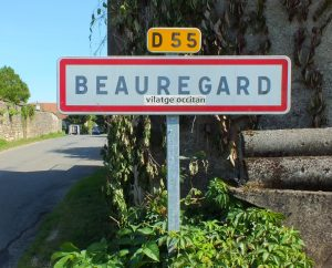Communes - Beauregard - - Panneau du village de Beauregard