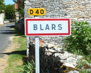 Communes - Blars - - Panneau du village de Blars