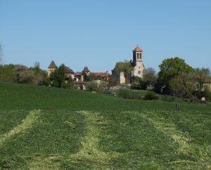 Points de vue - Saint-Jean-Mirabel - Vue sur le bourg depuis Saint-Félix -