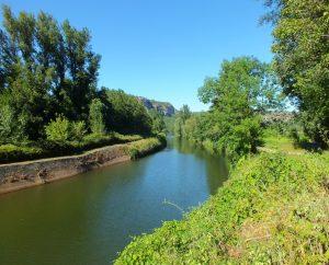 Écluses & Chaussées - Cénevières - Bief de Canteduc -