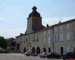 Mairies - Castelnau-Montratier (Castelnau Montratier-Sainte Alauzie) - Hôtel de Ville -