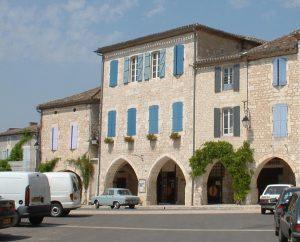 Demeures & Manoirs - Castelnau-Montratier (Castelnau Montratier-Sainte Alauzie) - Maison Jacob (Place Gambetta) -