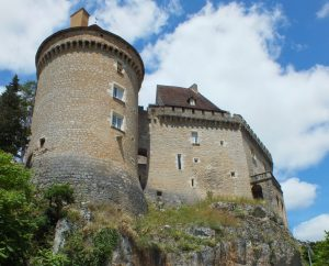 Châteaux & Fortifications - Cabrerets - Château des Gontaud-Biron -