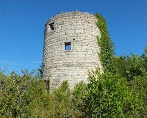 Moulin à vent - Villesèque - Moulin à vent de Trébaïx -