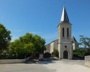 Circuits randonnée pédestre - Saint-Laurent-Lolmie - Circuit de Lolmie - 7km (Église de Lolmie)