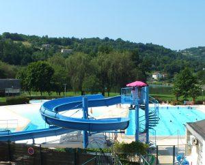Piscines & Parcs aquatiques - Figeac - Piscine à vagues du Domaine du Surgié -