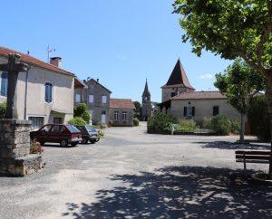 Rues & Ruelles - Saint-Vincent-Rive d'Olt - Dans les rues des Roques -