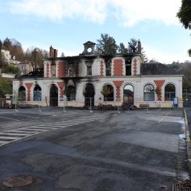 Gare ferroviaire de Figeac dans le Lot - LOT'refois - Photo 2018