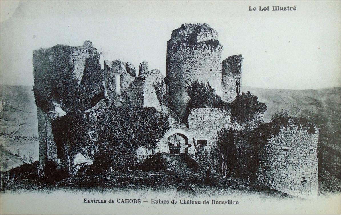 Château de Roussillon à Saint-Pierre-Lafeuille