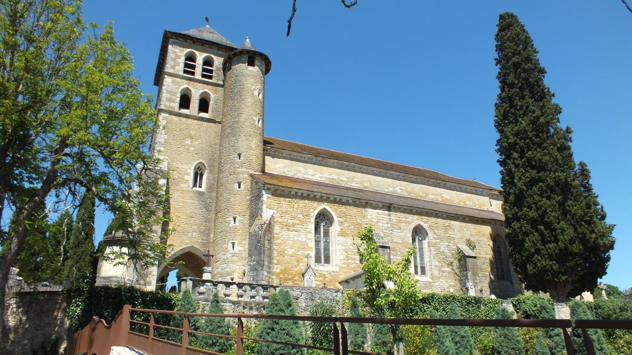 Puy-l'Évêque - Église Saint-Sauveur - Lot