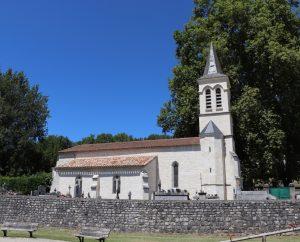 Circuits randonnée pédestre - Cézac - Les Hauts Sommets du Quercy Blanc - 8km (église de Cézac)