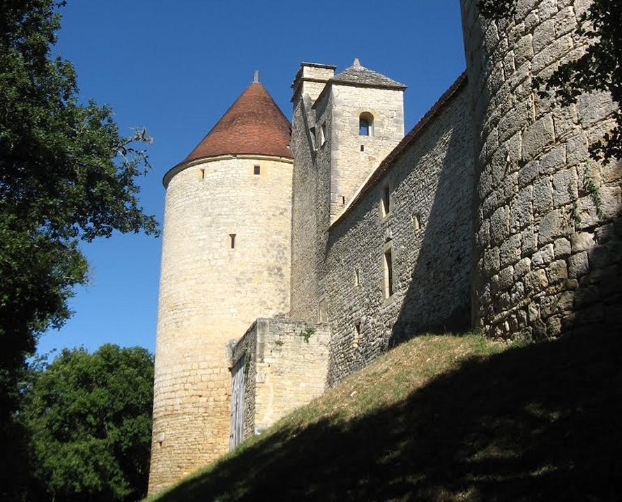 Châteaux & Fortifications - Concorès - Château de Clermont -