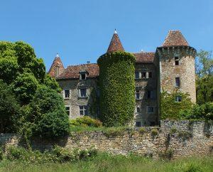 Châteaux & Fortifications - Figeac - Château de Saint-Dau (Ceint d'Eau) -