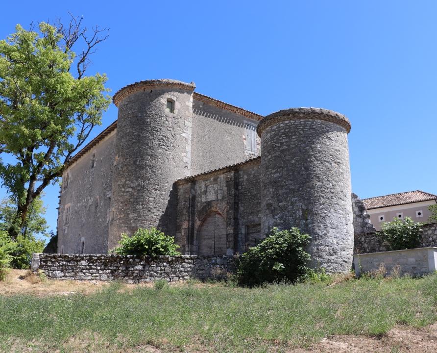 Circuits randonnée pédestre - Labastide-Marnhac - Circuit des Trois Eglises - 11km (Château de Labastide-Marnhac)