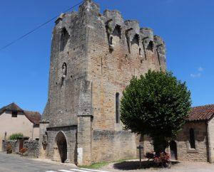 Châteaux & Fortifications - Rudelle - Église Saint-Martial -