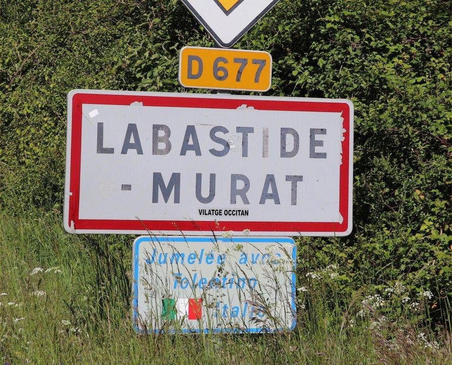 Communes - Labastide-Murat (Cœur de Causse) - - Panneau du village de Labastide-Murat (Cœur de Causse)