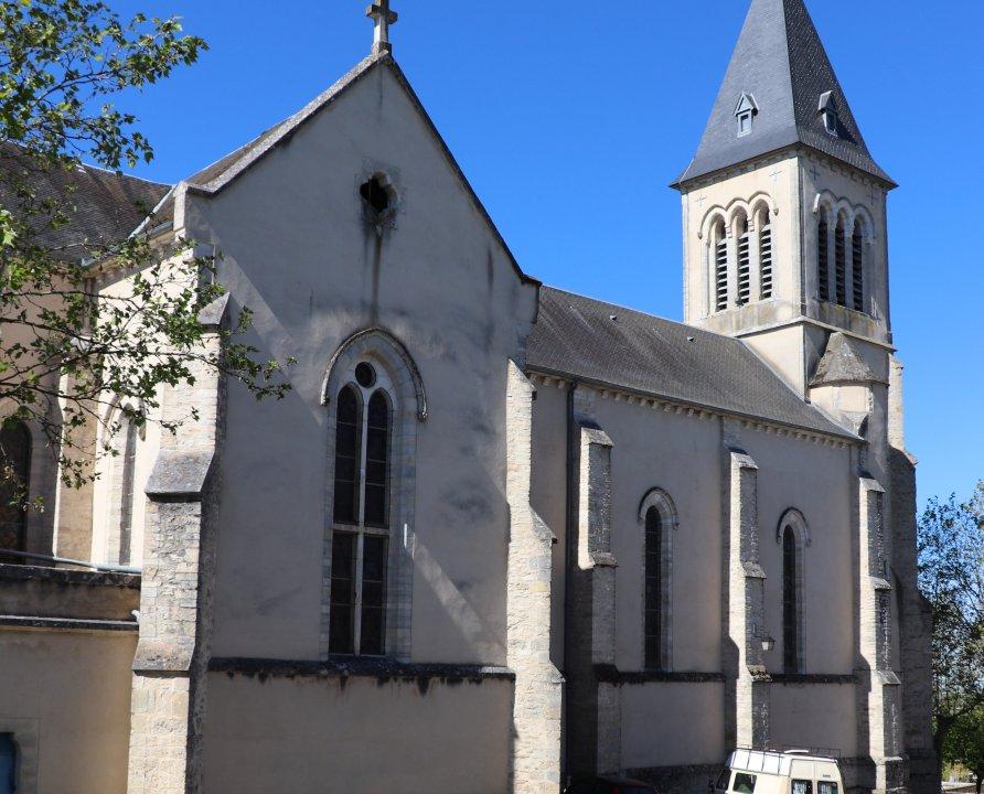 Églises & Abbayes - Labastide-Murat (Cœur de Causse) - Église Sainte-Catherine (bourg) -