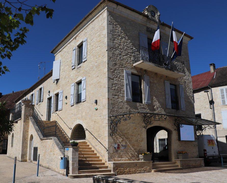 Mairies - Labastide-Murat (Cœur de Causse) - Mairie (bourg) -