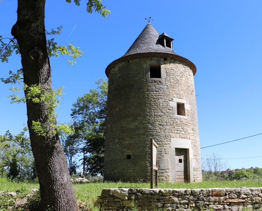 Moulins à vent - Labastide-Murat (Cœur de Causse) - Moulin à vent du Murat (Chayroux) -