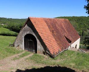 Granges & Fermes - Beaumat (Cœur de Causse) - Belles granges (bourg) -