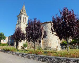 Églises & Abbayes - Le Boulvé (Porte-du-Quercy) - Église Saint-Pierre Saint-Paul (bourg) -