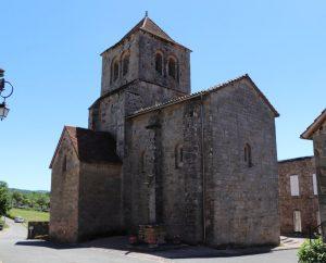 Églises & Abbayes - Le Bouyssou - Église Sainte-Croix (bourg) -