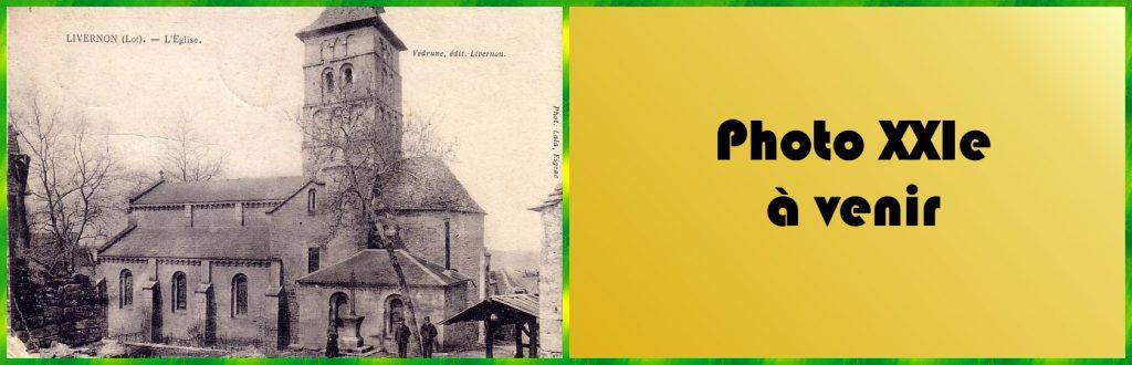 LOT'refois - CPA Début XXe - Photo XXIe à venir - Livernon - Église Saint-Rémy