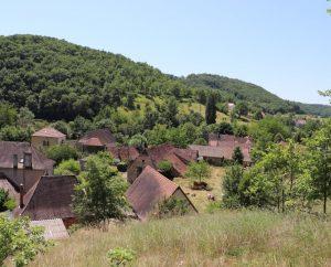 Points de vue - Gigouzac - Vue générale du Bourg -