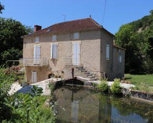 Moulin à eau - Gigouzac - Moulin du bourg -
