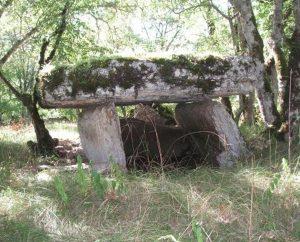 Dolmens & menhirs - Issendolus - Dolmen de Gabaudet 1 -