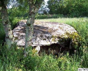 Dolmens & menhirs - Issendolus - Dolmen de la Pierre Levée (Les Combes) -