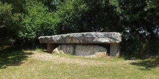 Dolmens & menhirs - Livernon - Dolmen de la Pierre Martine -