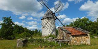 Le moulin du Mas de la Bosse à Promilhanes dans le Lot
