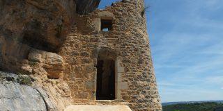 Le château des Anglais à Autoire dans le Lot